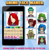 Anime Face Maker Mobile : Preview by gen8