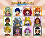 Anime Face Maker Mobile : Preview 2