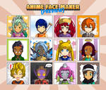 Anime Face Maker Mobile : Preview 2