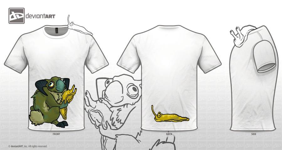 Monster T-Shirt by FartSmasher