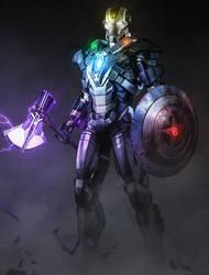 IRON MAN - TITAN KILLER by MizuriOfficial