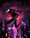 SPIDER-MAN: INTO THE SPIDER-VERSE! (NEON RED)