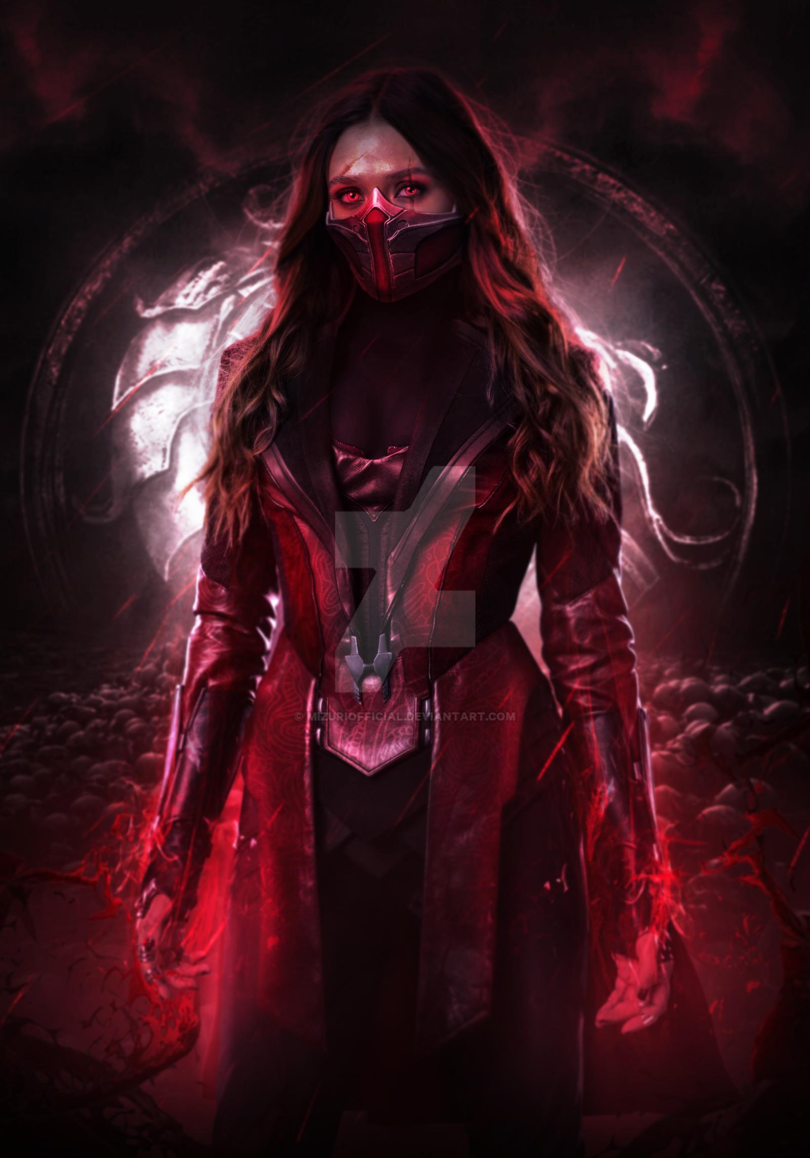 HD wallpaper: Skarlet, Mortal Kombat, mk11 | Wallpaper Flare