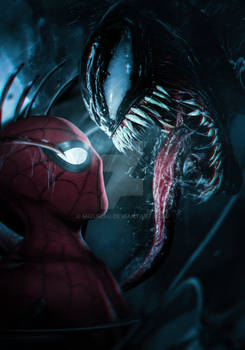 SPIDER-MAN MEETS VENOM!
