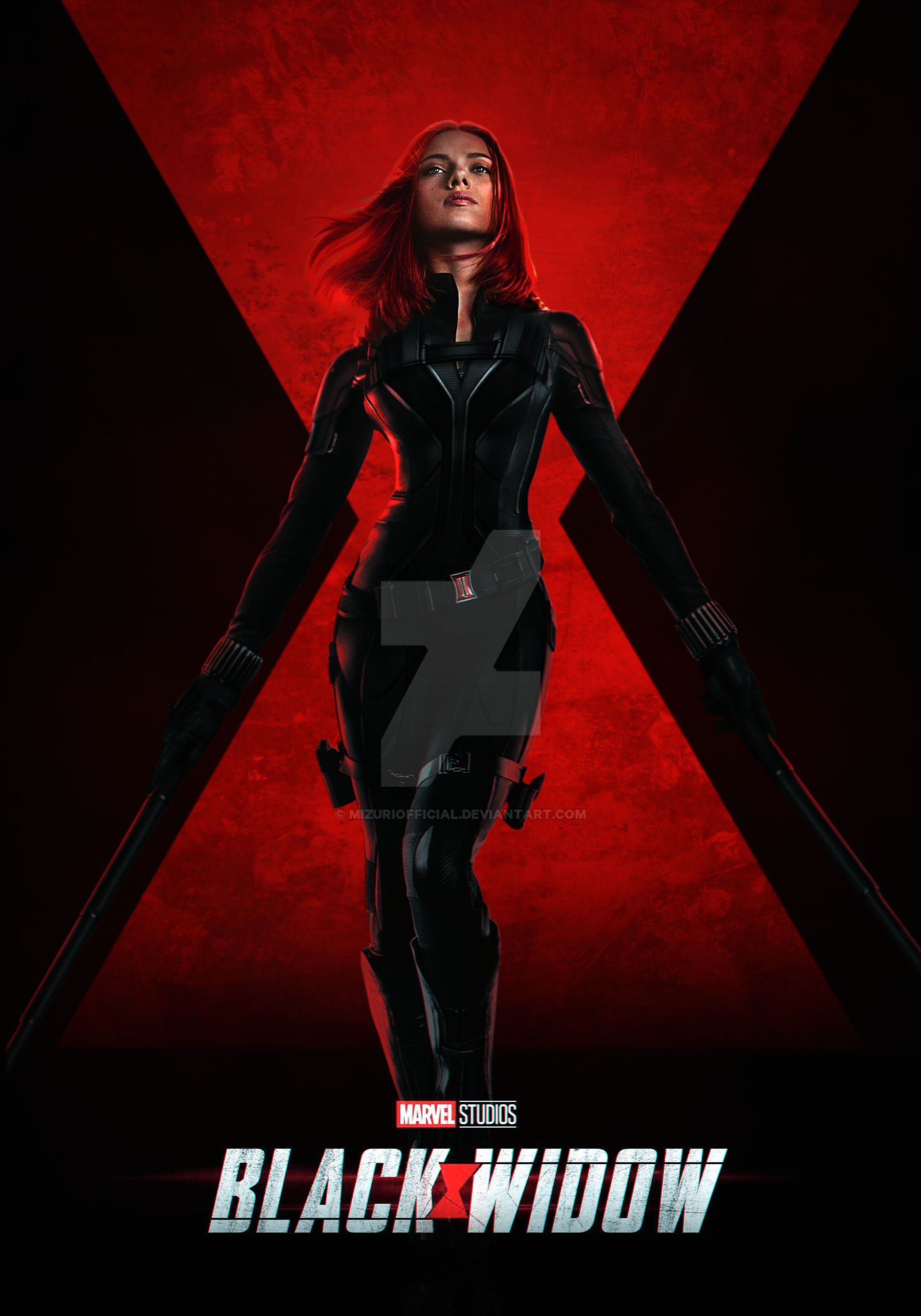 Black Widow Scarlett Johansson By Mizuriofficial On Deviantart