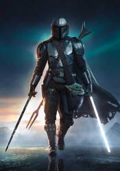 The Mandalorian - Light and Dark Sabers