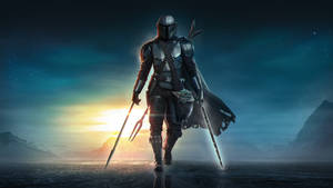 The Mandalorian - Beskar Spear and the Darksaber