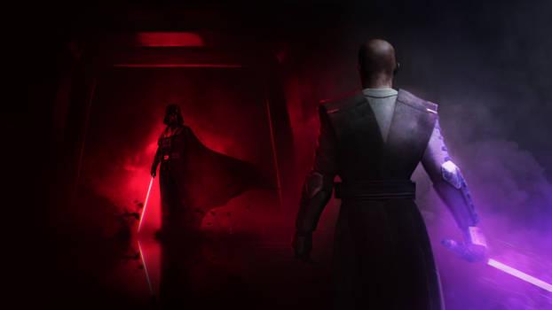 Darth Vader vs Mace Windu