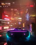 Neon Cyber Street