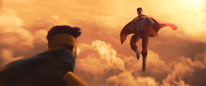 Invincible and Omni-Man