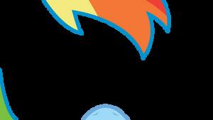 Rainbow Dash POV Vector
