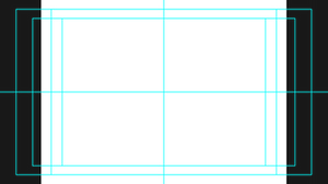 FREE TEMPLATE - Title / Action Safe (Center Cut)