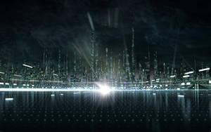 Tron Legacy. City concept.