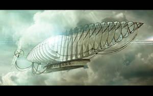 Sun zeppeline. by Shelest