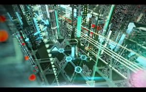 Cyber city. Concept 02. by Shelest