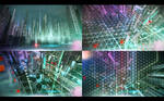 Cyber city. Concept 03.