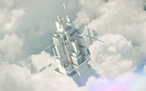 Cyber City. 3d - 00. by Shelest
