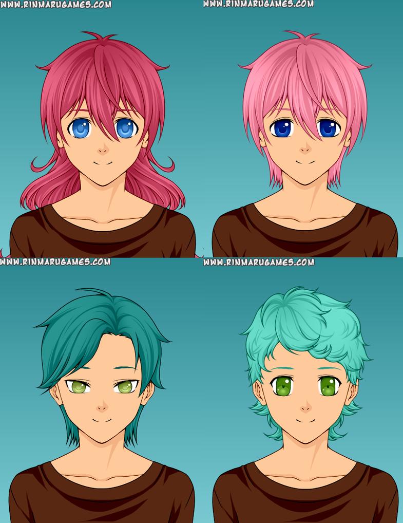 Tabitha, Hinata, Zaphod and Basil by HopeSunset