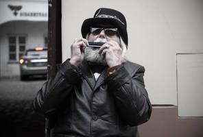 Street Music Day 2015: Mr. Blues Man by Helkathon