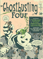 The Ghostbusting Four by heck13r