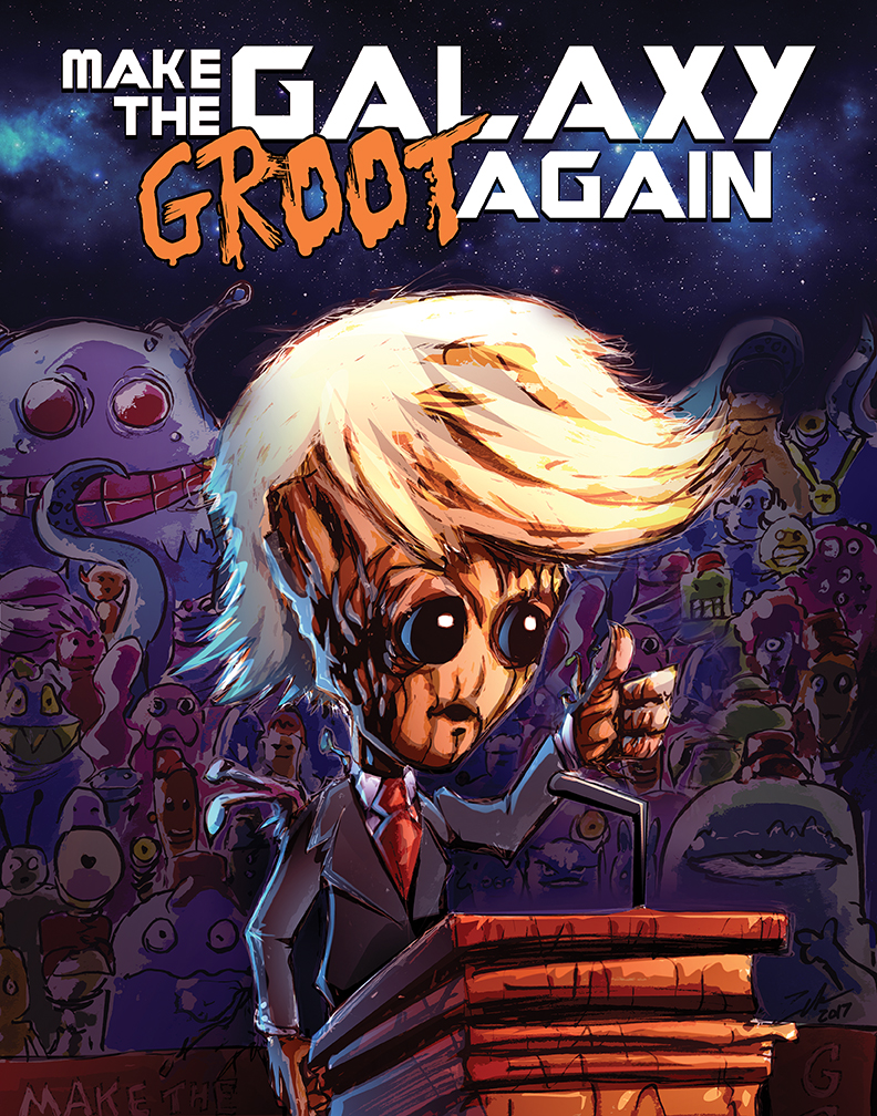 Groot Trump by heck13r