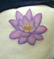 Lotus by LimaoTattoo