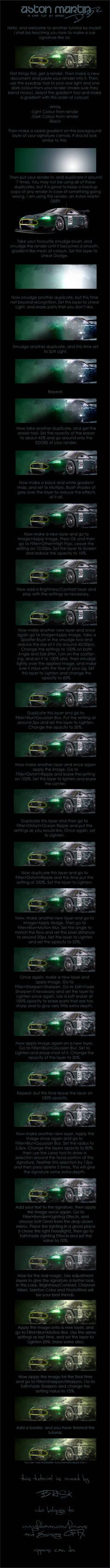 Aston Martin DBR9 Tutorial