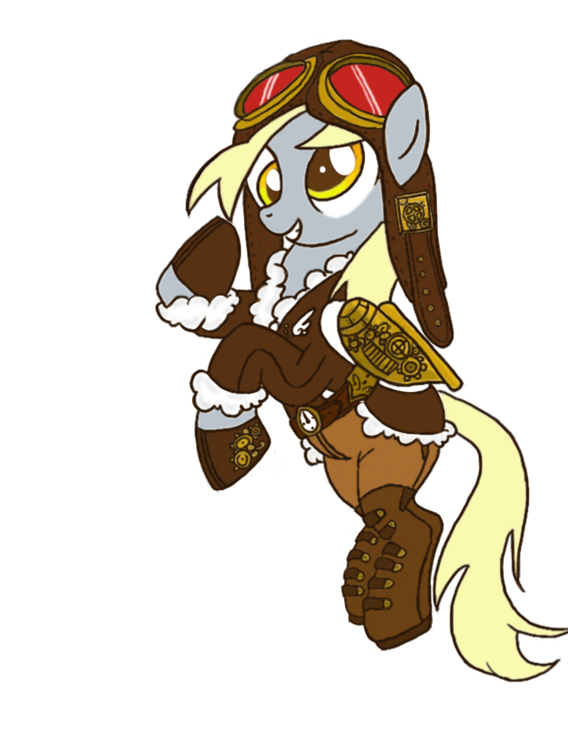 Steampunk Derpy by S31SH0
