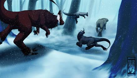 Winter Assassins -- Hunting Payment by ArtLunatic13