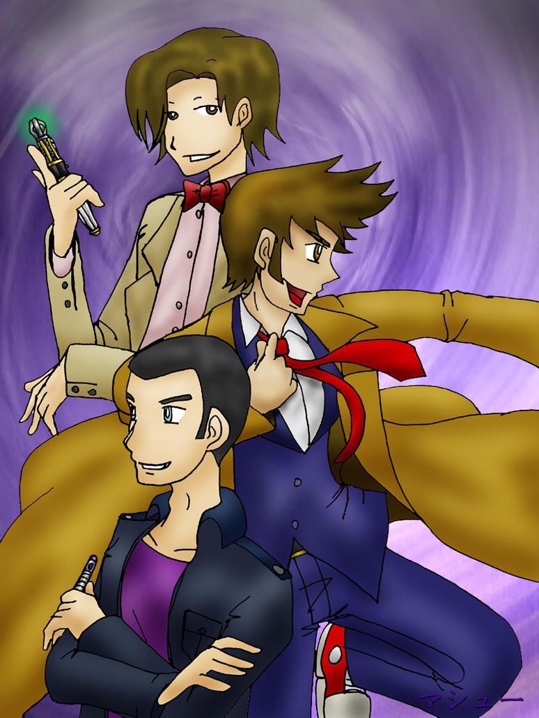 Doctor Who: The Threefold Man by ElementalAngel