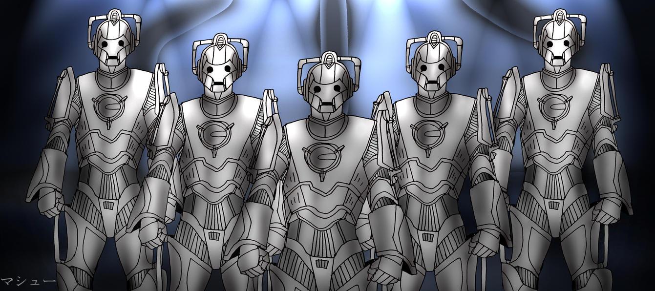 10 Days of Doctor Who Challenge: Cybermen by ElementalAngel