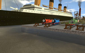 The RMS Titanic by DA-FcoMk513