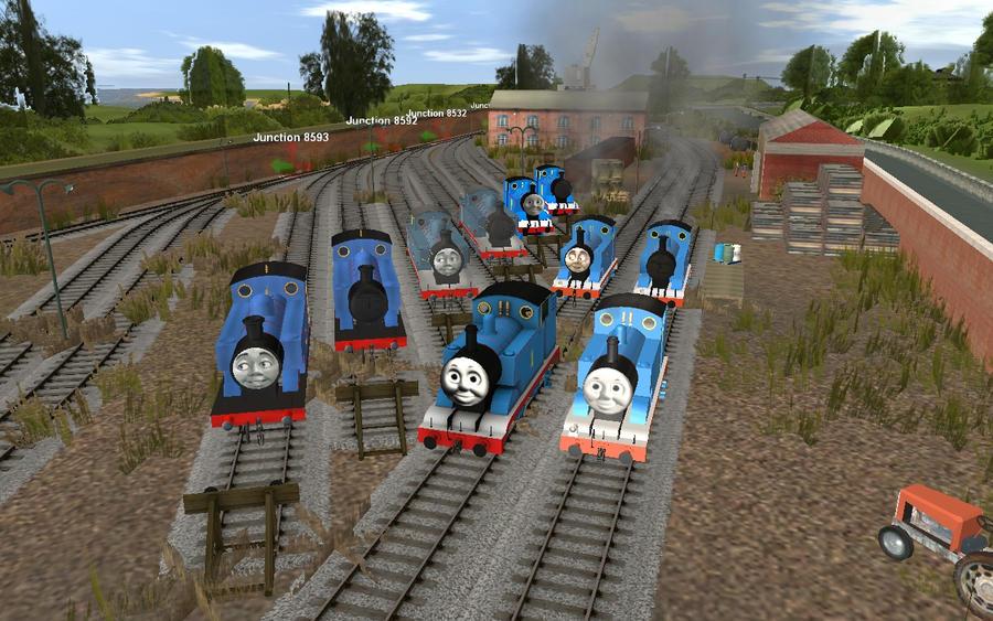 Trainz Thomas Downloads - rawtreton
