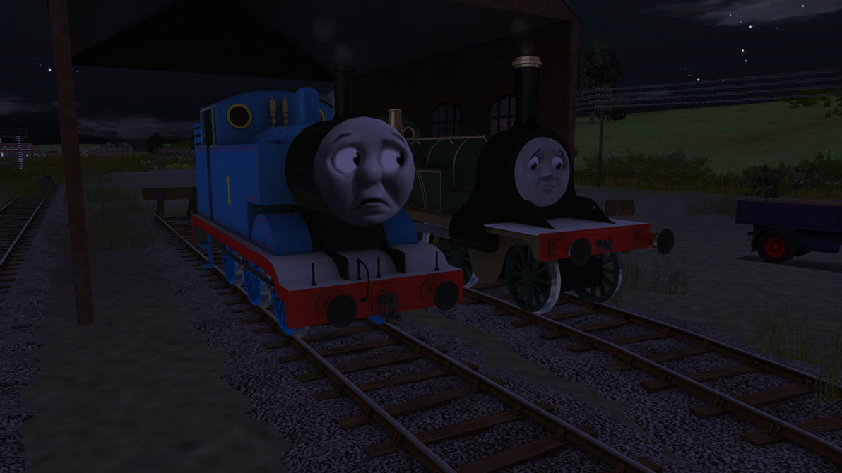 Thomas Comforts Emily By Mk513 On Deviantart