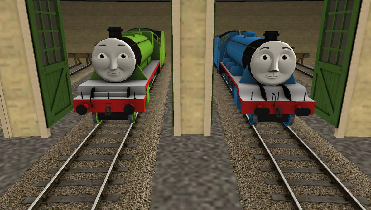 CGI Faces for the big engines by FcoMk513-DA on DeviantArt