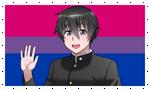 Bisexual Taro/Senpai Stamp by FcoMk513-DA