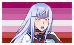 Lesbian Megami Stamp by FcoMk513-DA