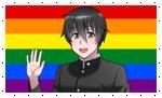 Homosexual Taro/Senpai Stamp by DA-FcoMk513