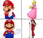 MMD Mario Drake Meme