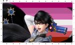 Lesbian Bayonetta Stamp by DA-FcoMk513