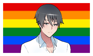 Homosexual Yan-Kun Stamp by FcoMk513