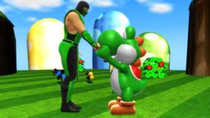 Yoshi and Reptile