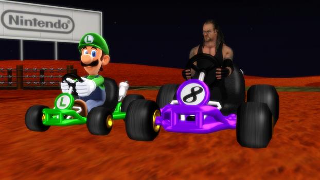Taker and Luigi