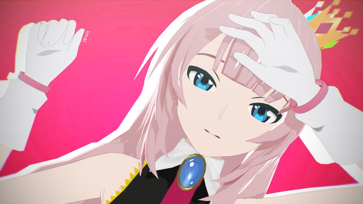 [Art MMD] Kimagure Mercy - Megurine Luka by VocaloidImai