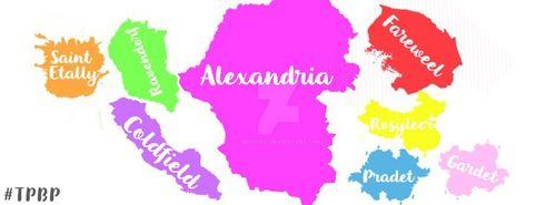 mapa alexandria paint versionnn by heycute