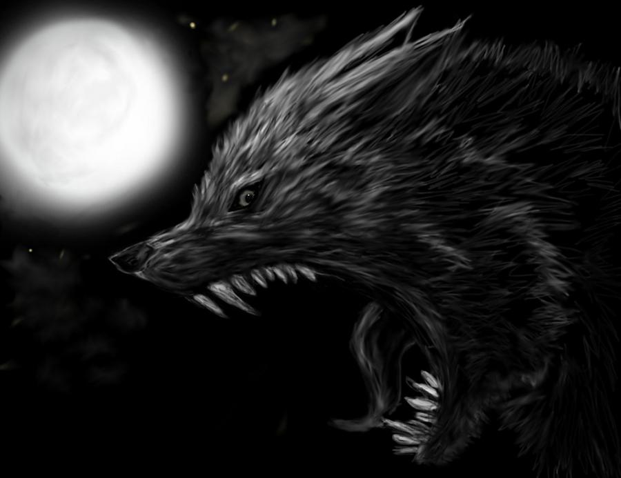 werewolf sketch by TheGuardianW0lf
