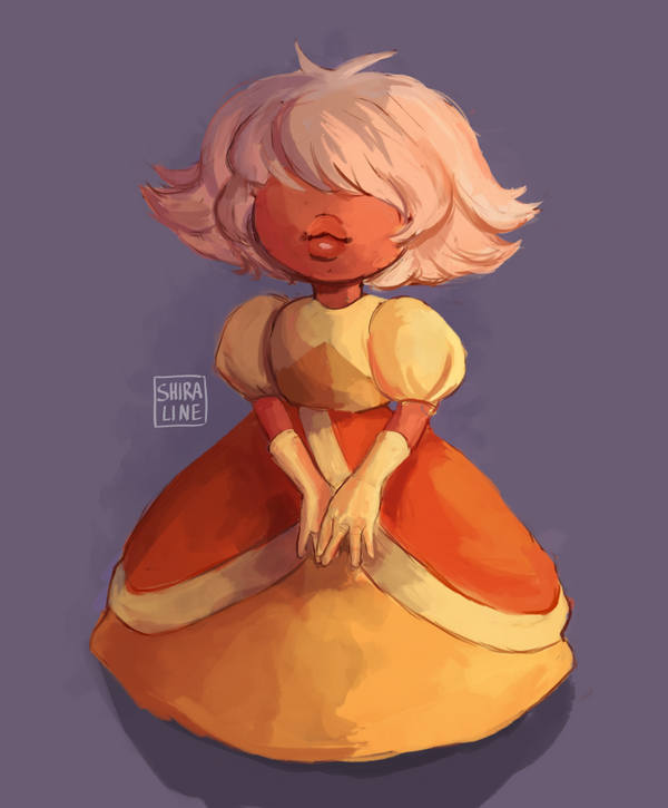 Hey, it's me again with another Steven Universe fanart. She is just too cute to exist! You can watch a speedpaint of this one on YouTube! (please, do, I've just set up a channel and it looks fairly...