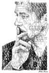 Gary Oldman Typography Illustration