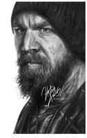 Opie Winston Drawing by Helenhsd