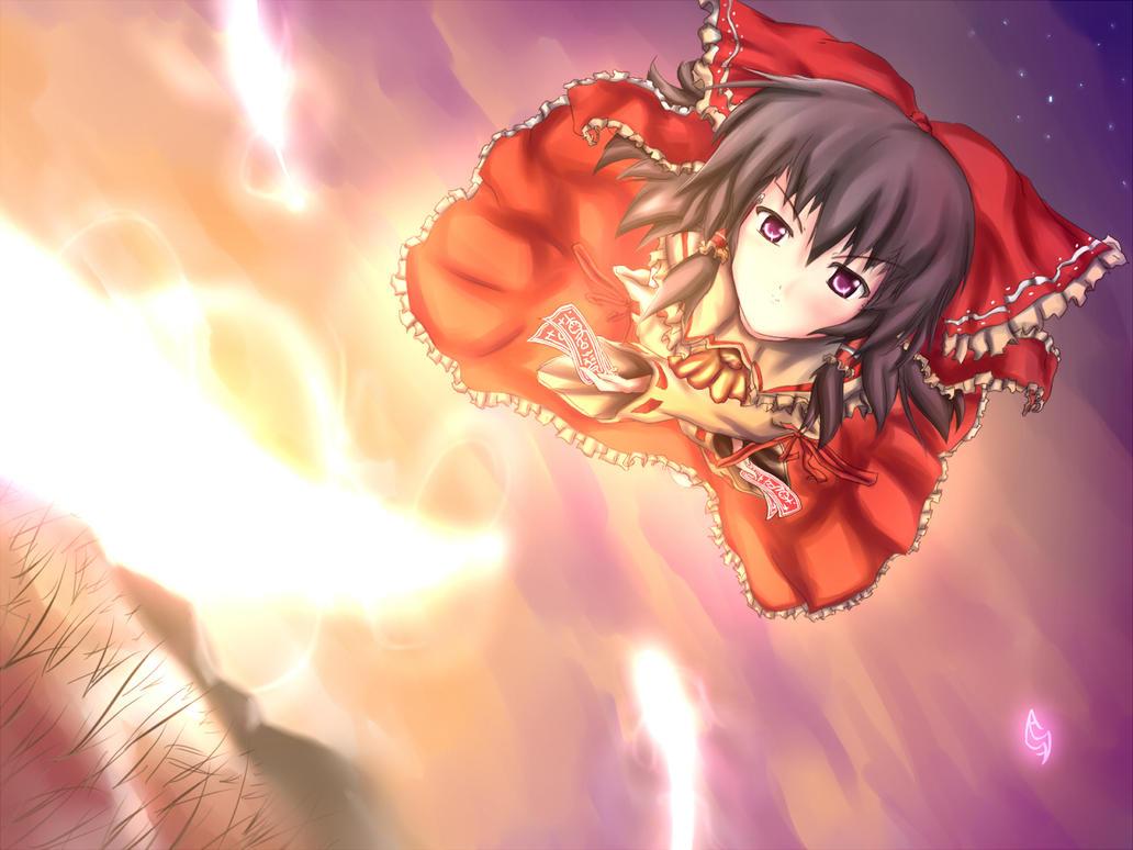 Touhou Reimu: Fantasy Graze by AnimeFury
